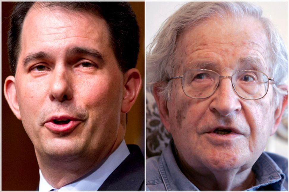 Scott Walker, meet Noam Chomsky: Here's the real Iran history Republicans need to learn | Salon.com