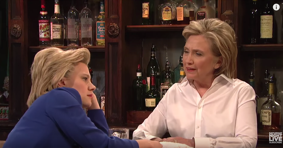 """My God! They're multiplying!"" Hillary imitates Trump on ""Saturday Night Live"" — Trump fires back, Bill gets best line"