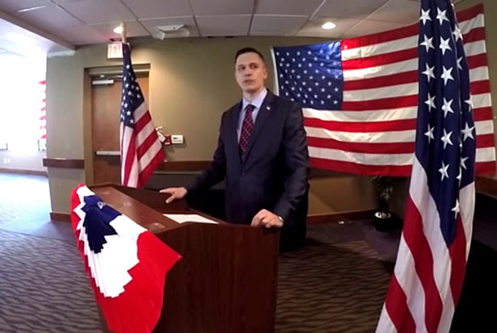 """Yes, I drank the goat's blood"": Libertarian senate candidate also promises a second Civil War if elected"