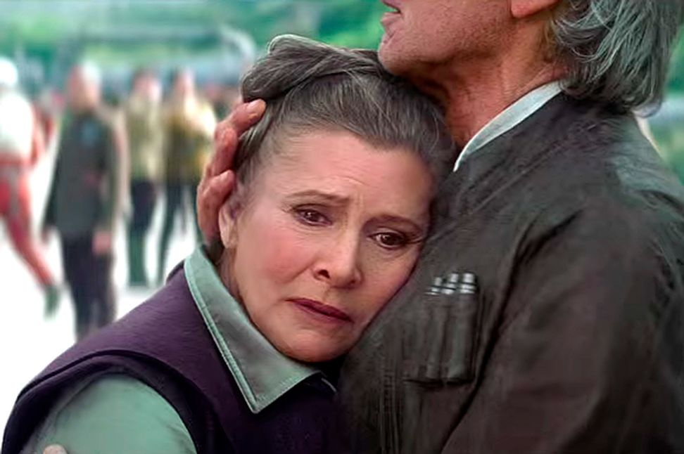 """""""Star Wars"""" lets Princess Leia age realistically: Is this an alternate Hollywood universe?"""
