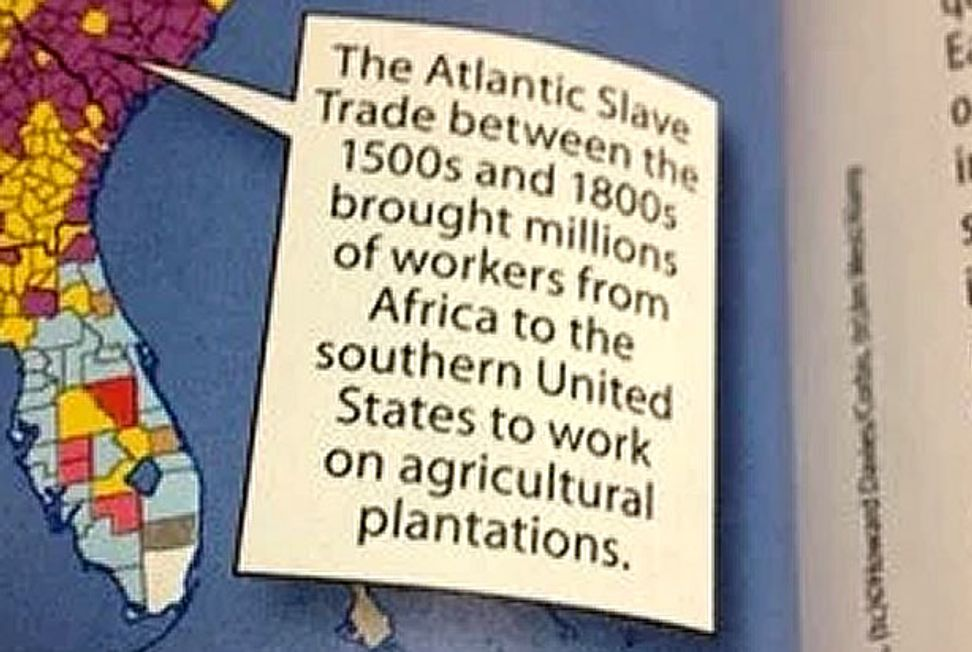 """""""This is what erasure looks like"""": Texas mother shames textbook company into putting slavery back in American history textbook 