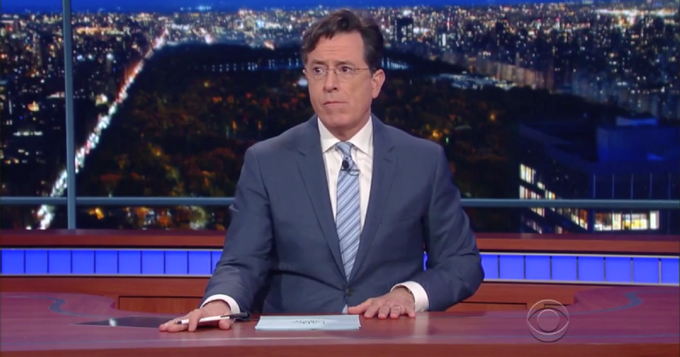 'Visibly shaken' Colbert re-shoots 'Late Show' segments to include heartfelt comments on Paris attacks | Salon.com