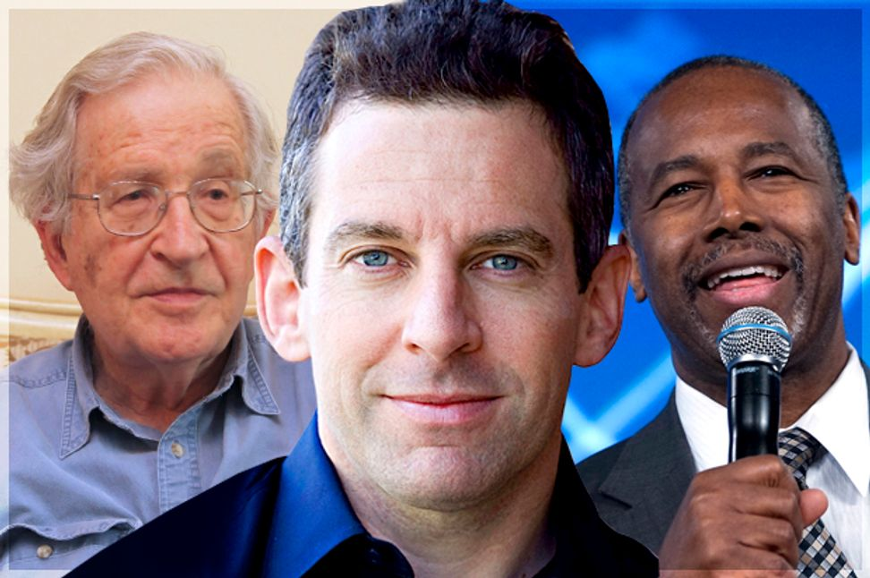 Sam Harris can't be redeemed: Ben Carson, Noam Chomsky and the defining hypocrisy of the New Atheist movement | Salon.com