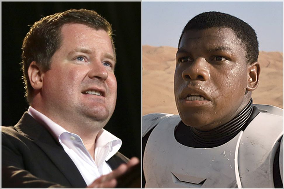 "Erick Erickson soils himself: Conservative host now too scared to see ""Star Wars"" in theaters"