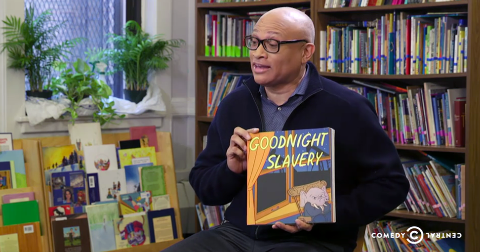 """""""Goodnight, slavery"""": Larry Wilmore lets Texas have it in brilliant rewrite of children's classic"""