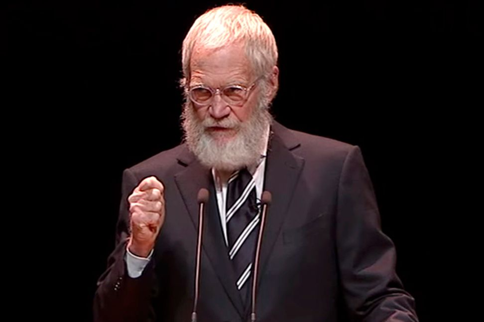 "David Letterman shares all (even about the beard): ""I don't think I care that much about television anymore. I feel foolish for having been misguided by my own ego"" 