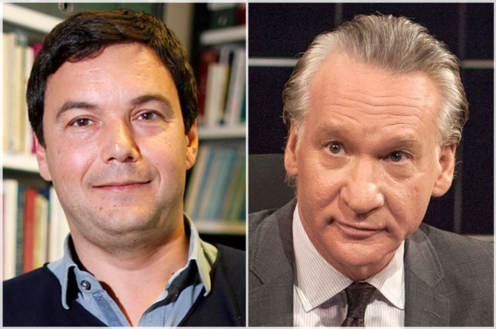 Bill Maher and Thomas Piketty unite: Income inequality, Islamic extremism and a liberal war on terror