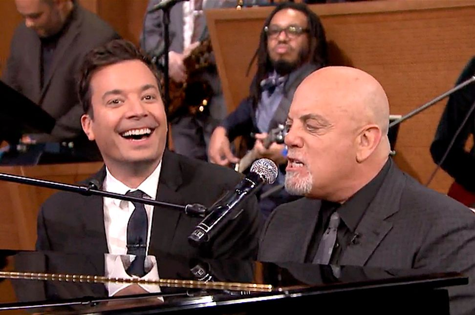 Jimmy Fallon, evil genius: Even Billy Joel sounds good on his stage | Salon.com