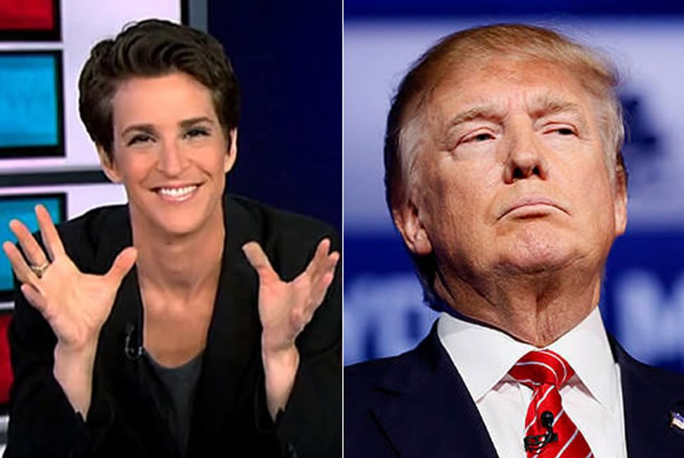 Maddow demolishes Donald Trump with horrifying side-by-side comparison to segregationist George Wallace