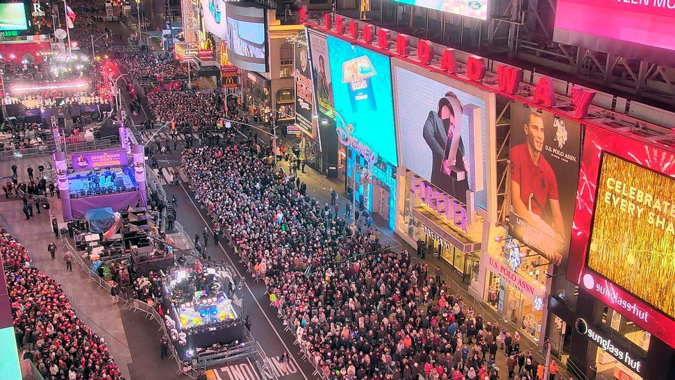 Police drone to fly over New Year's Eve celebrations in Times Square