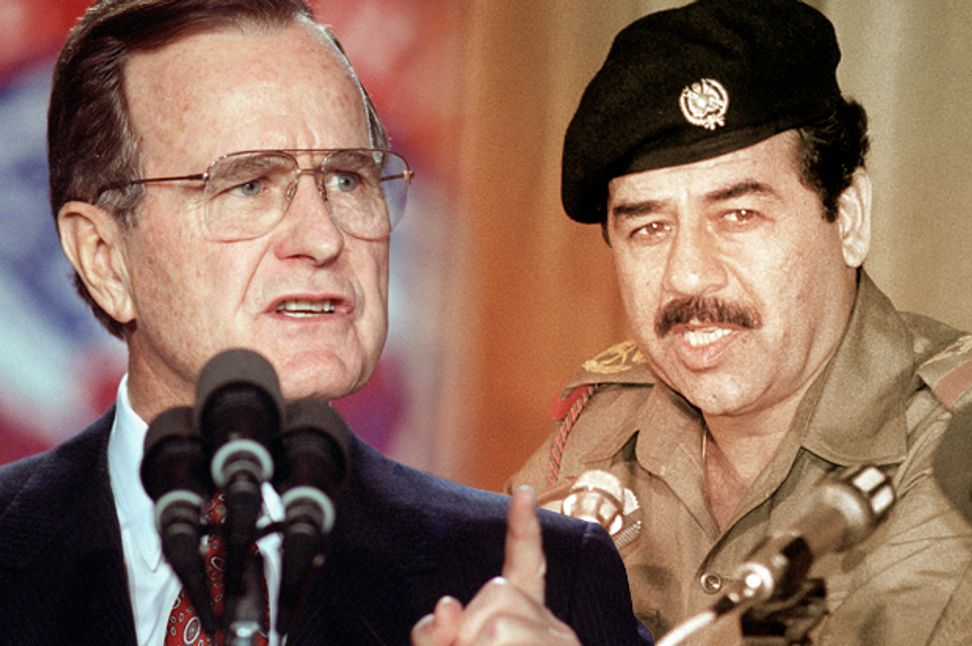 They're still lying about the first Gulf War: How the first George Bush helped create today's Middle East trouble