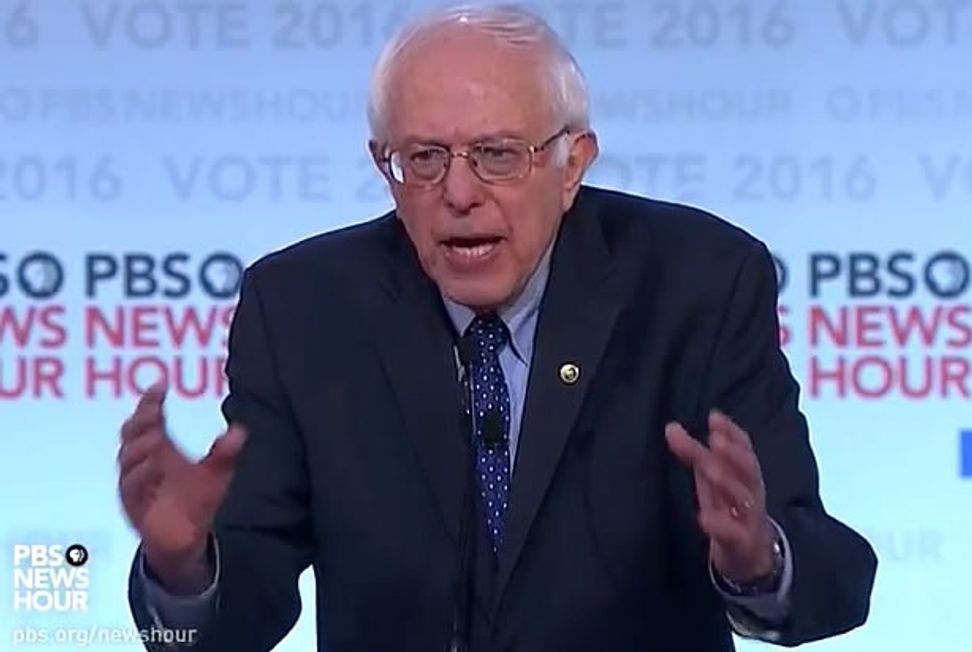 "Sanders calls racial inequality in incarceration rates is ""one of the greatest tragedies of our time"""
