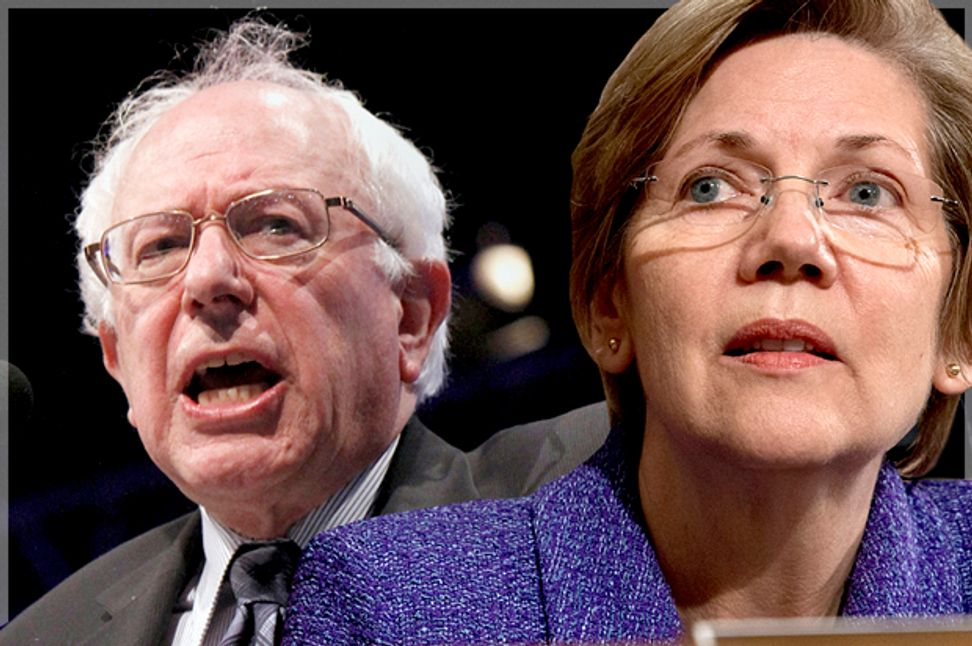 Bernie Sanders and Elizabeth Warren want to lead the progressive movement