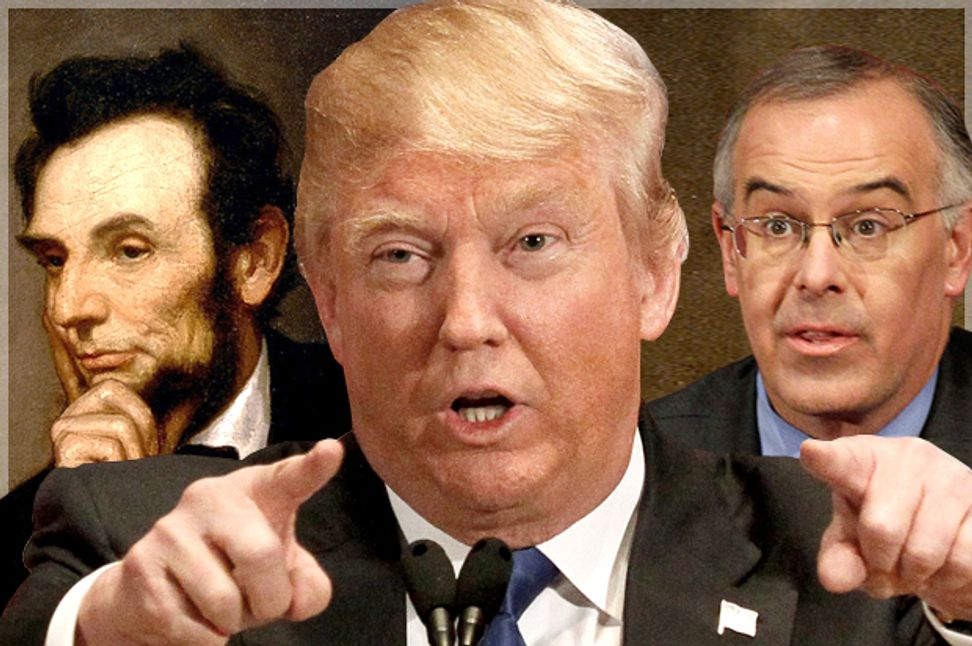 They have not been the party of Lincoln for decades: Donald Trump exposes the truth about GOP racism that David Brooks keeps denying