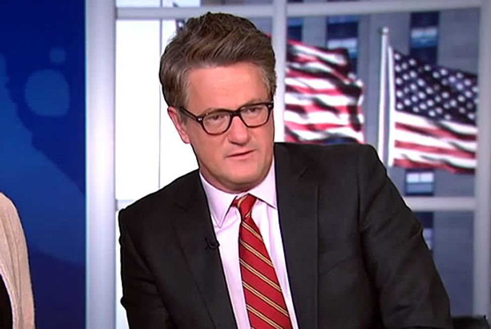 "Joe Scarborough: Why even vote for Bernie Sanders when the race is already ""rigged"" for Hillary Clinton?"