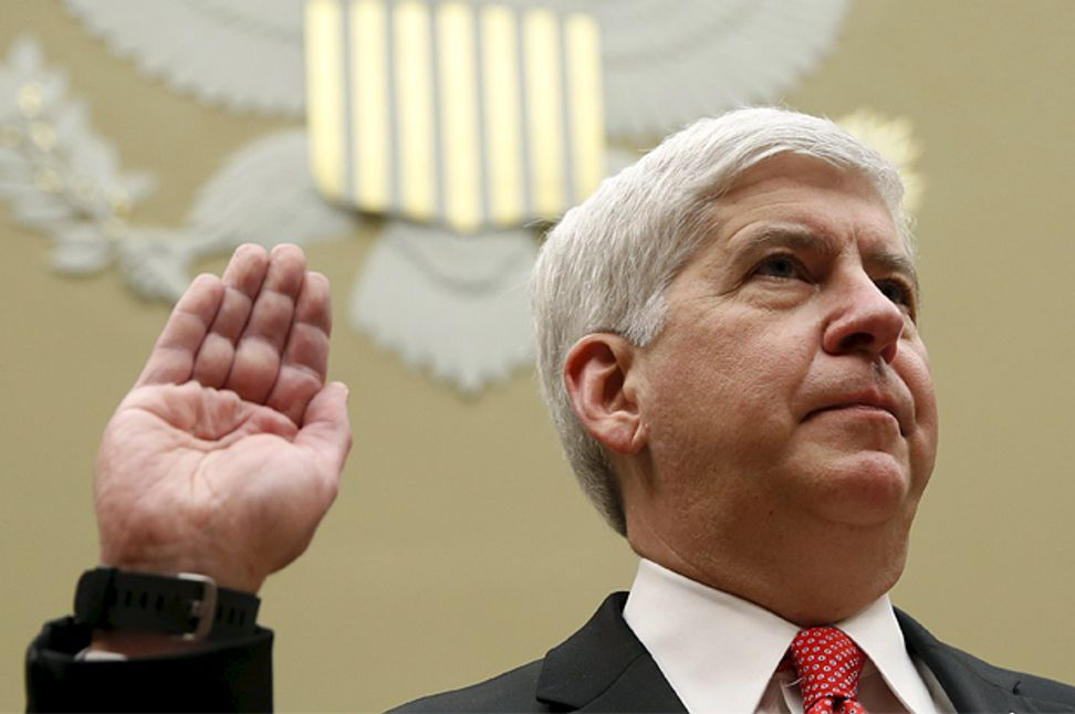 The governor who poisoned Flint: The GOP's Rick Snyder thought he might be president. Not so fast… | Salon.com