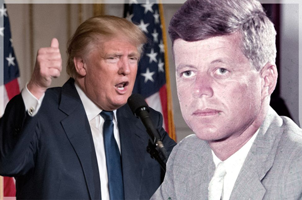 Donald Trump will finally get to play a role in JFK conspiracy lore