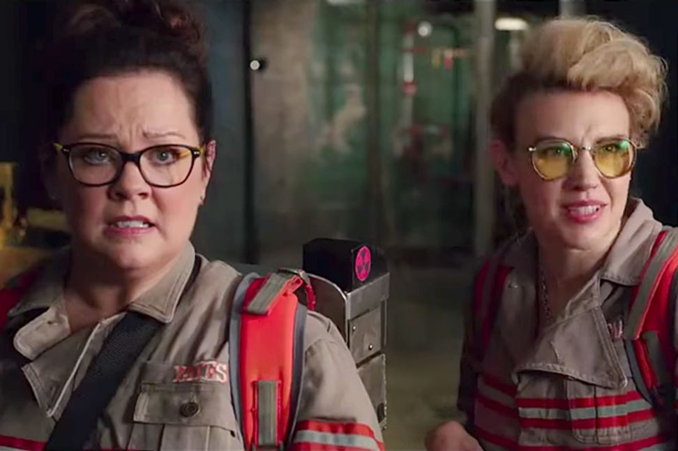 """Angry Video Game Nerds, calm down about """"Ghostbusters"""": It's still a comedy about ghosts and those who bust them"""
