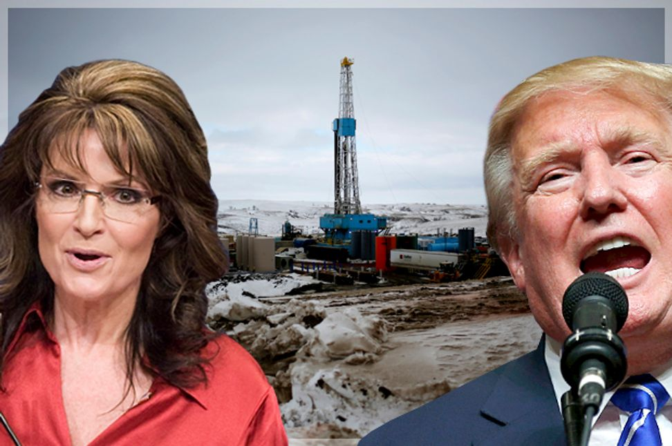 Donald Trump is an environmental nightmare: Keystone, climate change and the GOP's demented pander