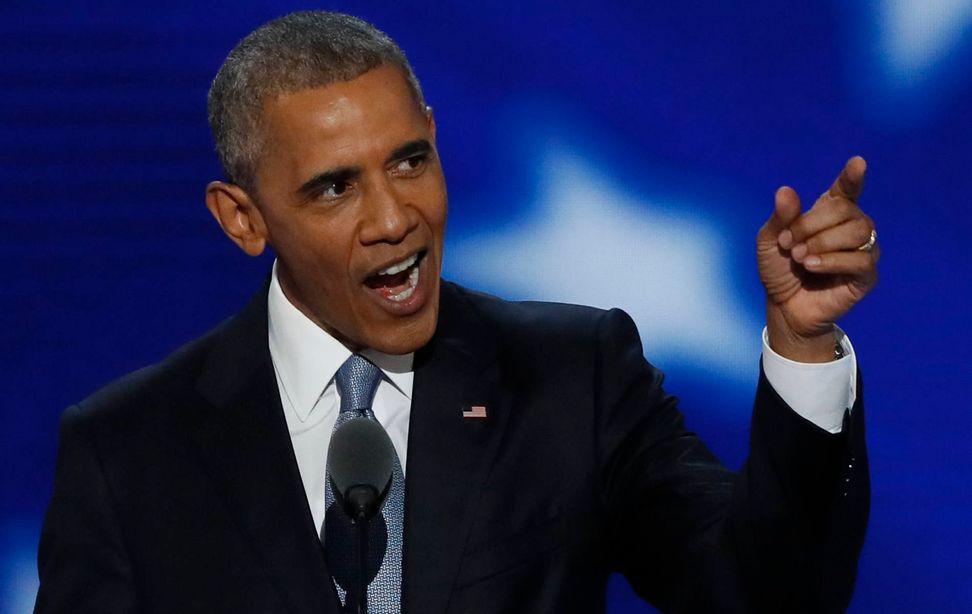 """America is already great"": President Obama's moving DNC speech lifts Hillary, crushes Trump | Salon.com"