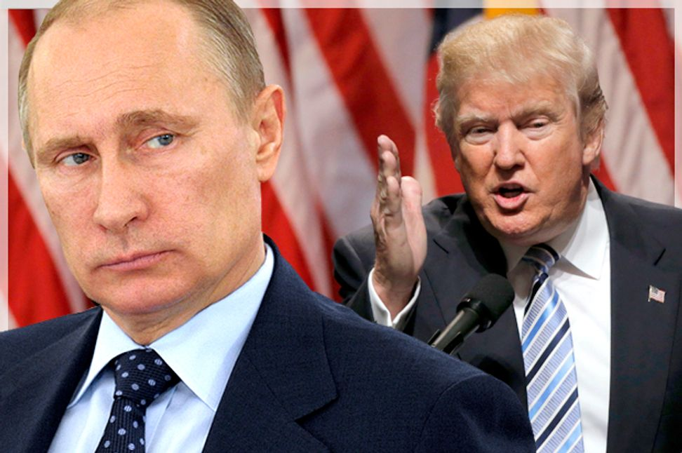 Donald Trump vs. America: The GOP presidential nominee explicitly asks Russia to violate our national security