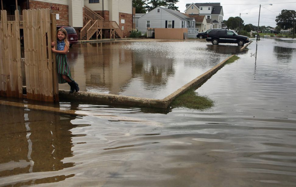 Drowning out the East Coast: Coastal cities could flood three times a week by 2045   Salon.com