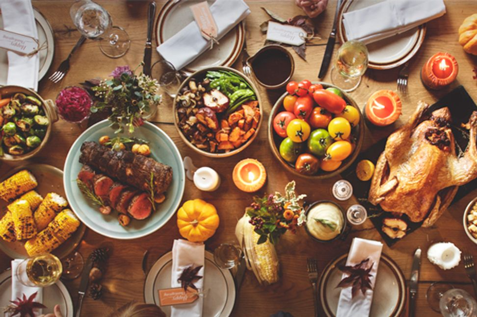 Thanksgiving dinner can end sooner if guests pass the gravy across a partisan divide