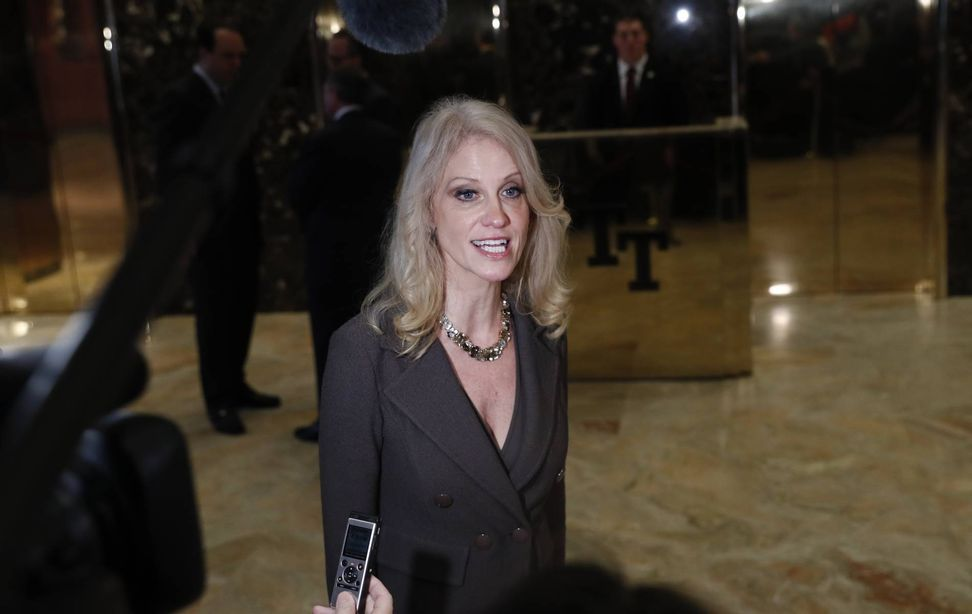 Donald Trump will not release his tax returns at all, Kellyanne Conway says