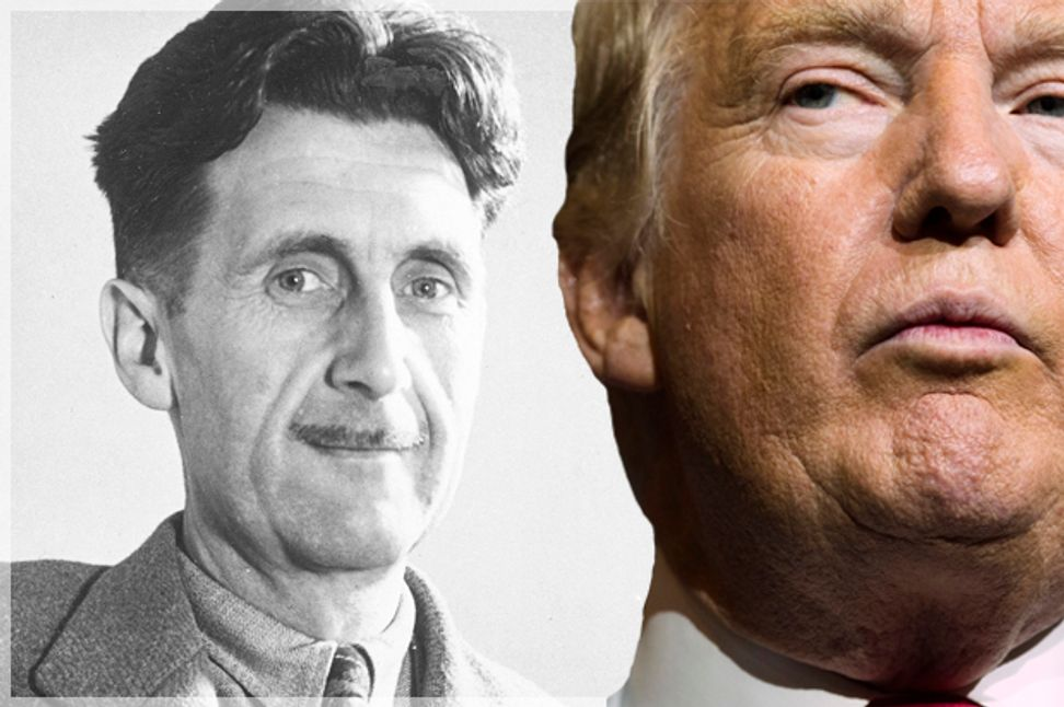 """The normalization of Donald Trump began in """"1984"""": How George Orwell's Newspeak has infected the news media"""
