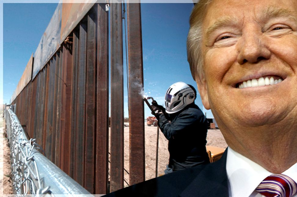 """""""Republicans in Congress don't want the wall"""": Democrats taunt Trump as he drops funding fight for his """"big beautiful wall"""" 