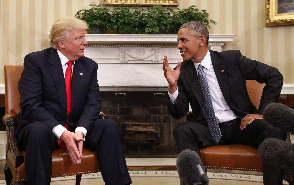 More Americans admire Barack Obama than Donald Trump: poll