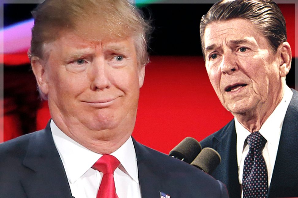 Trump turns his back on Reagan: Our new president represents a confused backlash against capitalism   Salon.com