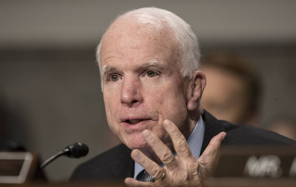 Americans share their ACA success stories with John McCain before he votes on health care reform   Salon.com
