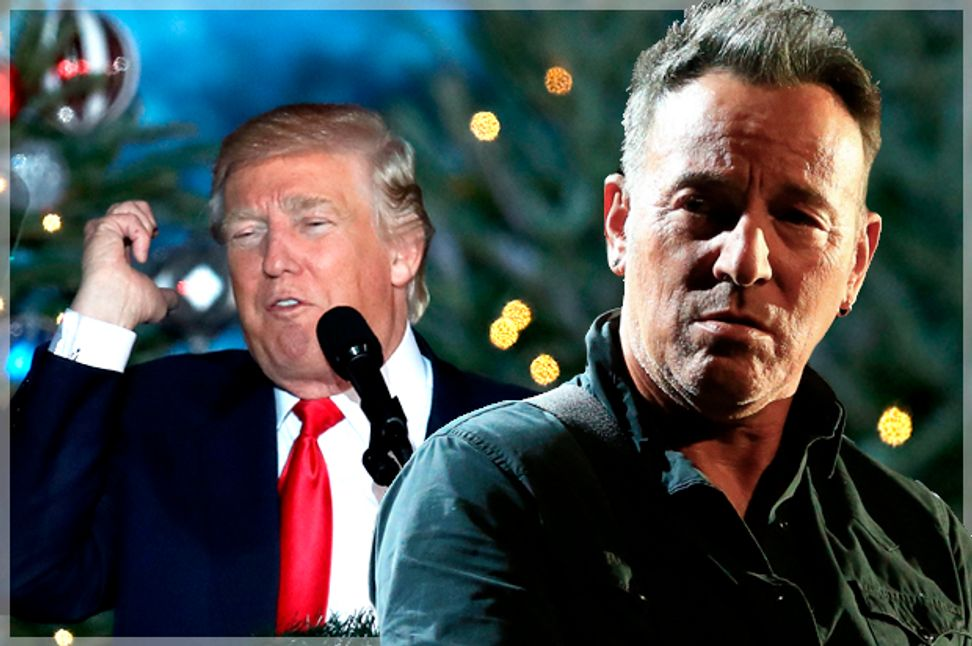 A majority of Americans, including Bruce Springsteen doubt Donald Trump can perform essential presidential duties
