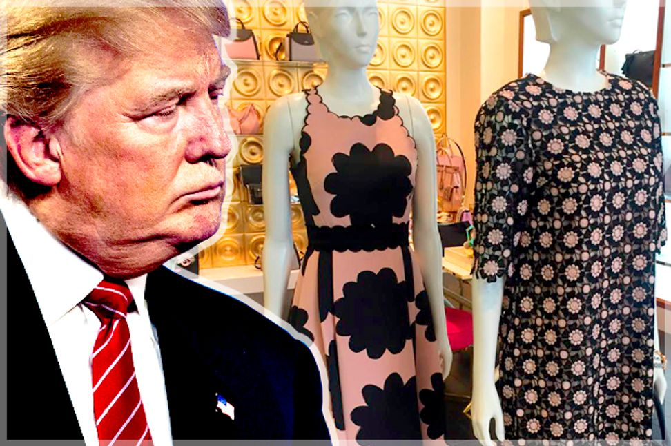 """Donald Trump claims all the """"dress shops"""" in Washington, D.C. are sold out for his inauguration. We found hundreds of available gowns 
