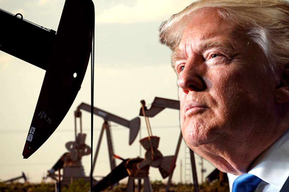 """Donald Trump's """"carbon bubble"""" economy is bound to pop — the only question is how bad it will be 