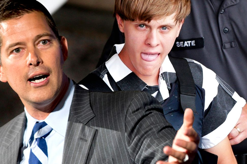 """White terrorism is """"different,"""" says white congressman — and unfortunately, he's right"""
