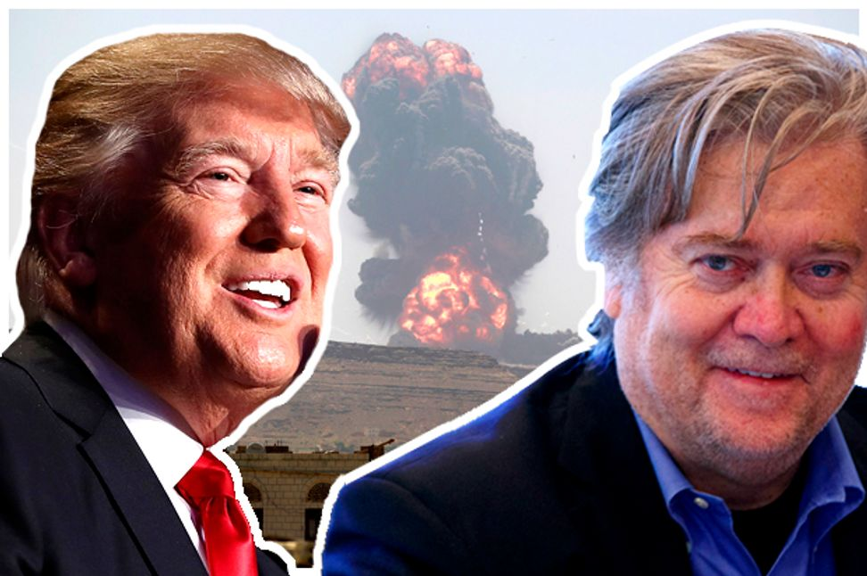 Steve Bannon's war with Islam: Trump may not even understand his adviser's apocalyptic vision | Salon.com