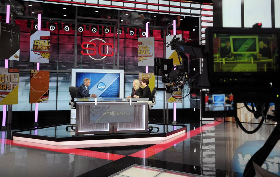 """""""SportsCenter"""" anchor suggests ESPN's massive layoffs due to network's liberal programming"""