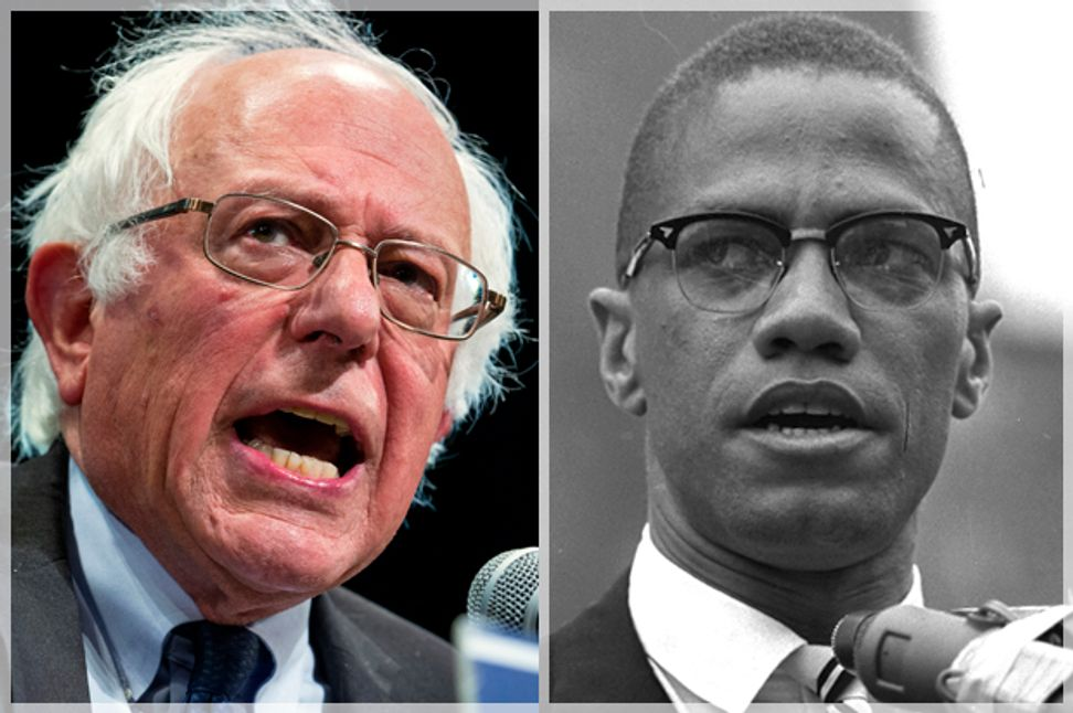 Bernie is wrong and Malcolm was right: What white liberals so often get wrong about racism and Donald Trump