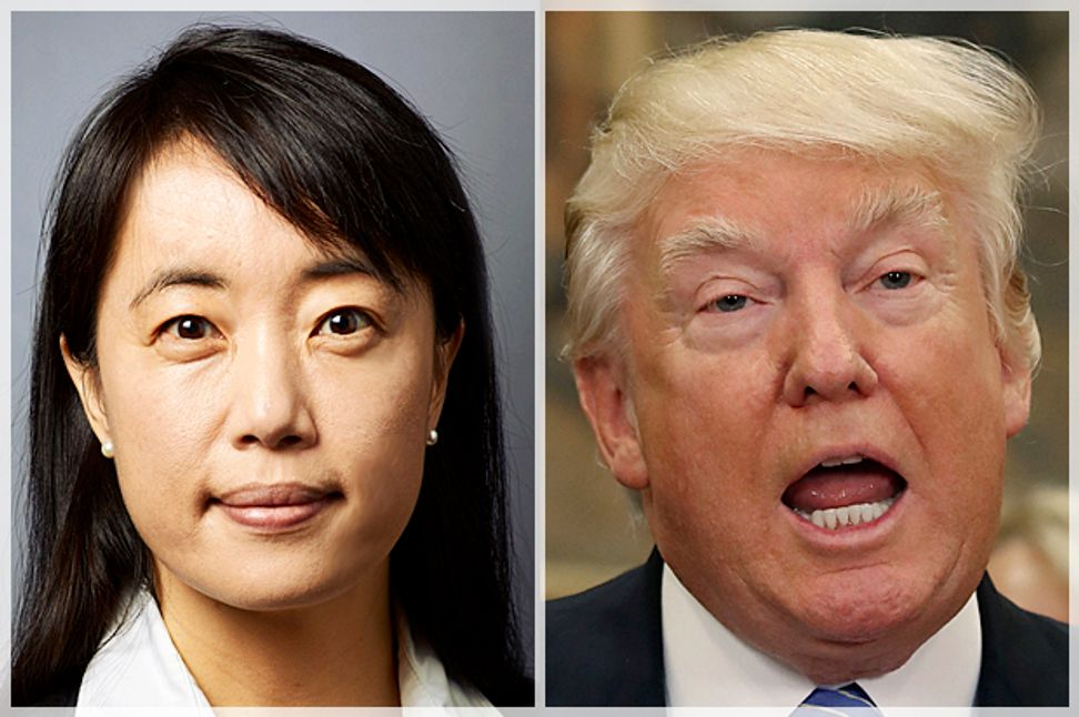 """Psychiatrist Bandy Lee: """"We have an obligation to speak about Donald Trump's mental health issues. . . . Our survival as a species may be at stake"""" 