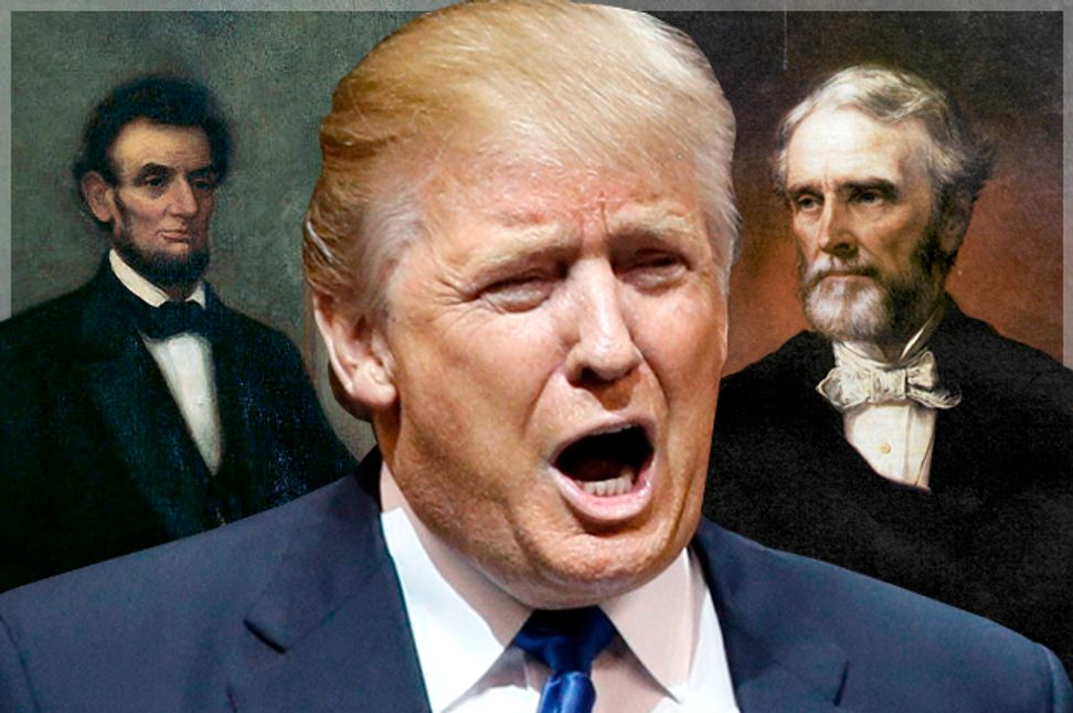 Donald Trump's historical ignorance reveals a great truth: The party of Lincoln has become the party of Jefferson Davis