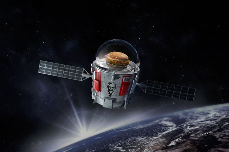 How depressing is space privatization? KFC is sending a chicken sandwich to space | Salon.com