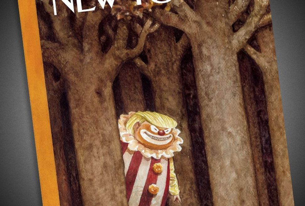 The New Yorker's newest President Trump cover is the most brutal one yet