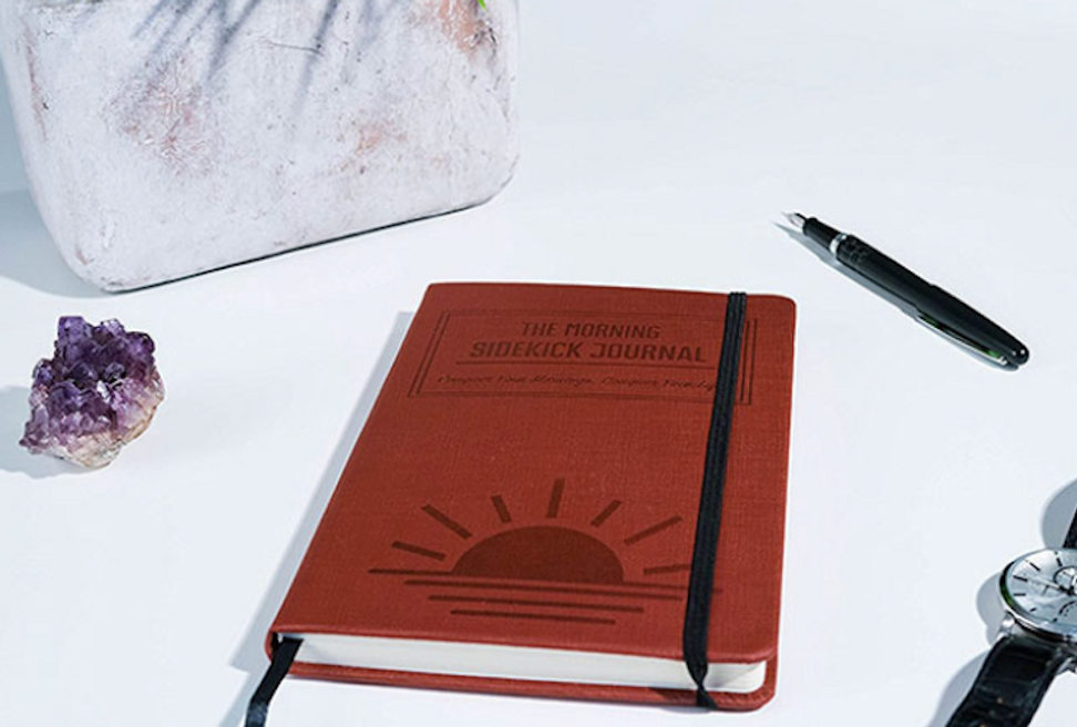 Set positive morning rituals with this journal