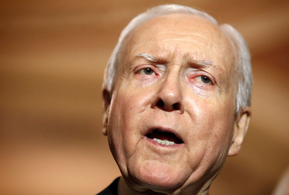 Sen. Orrin Hatch is a case study in why you should always read the article before posting