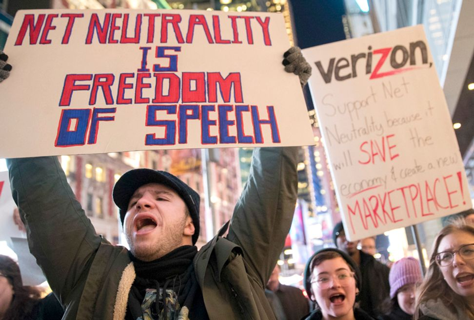 Democrats just forced a Senate vote on net neutrality