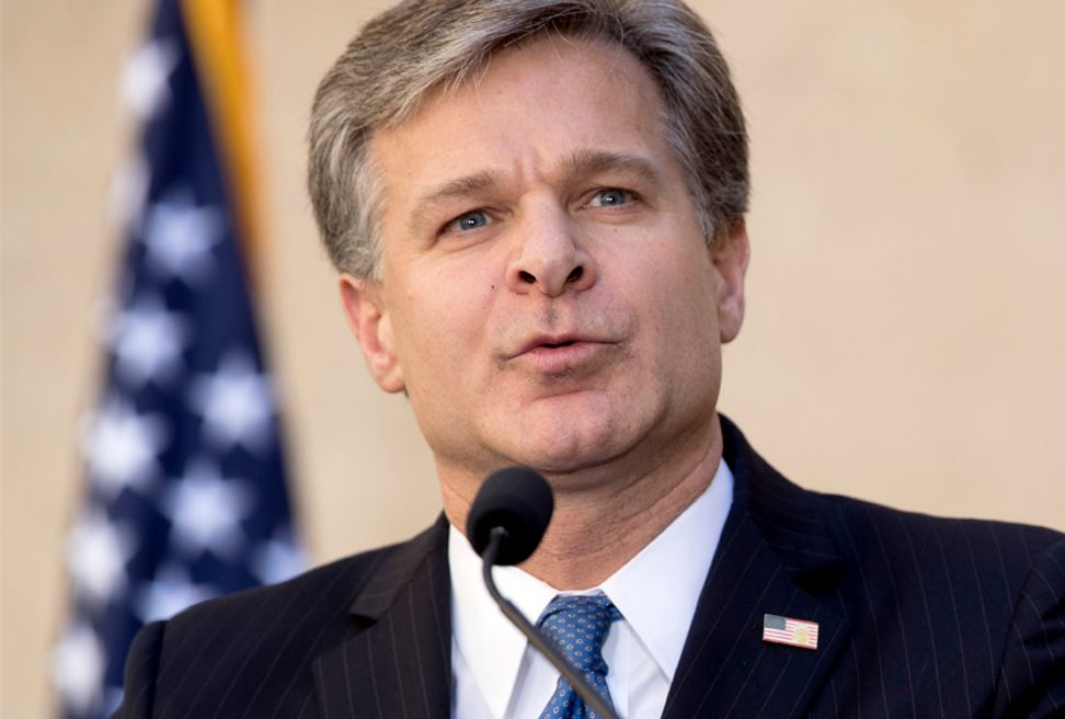 FBI Director Christopher Wray confirms White House limited the scope of the FBI probe of Kavanaugh