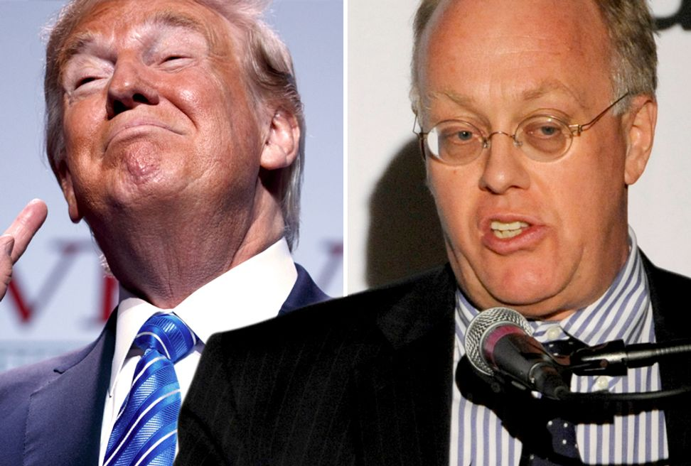"Pulitzer winner Chris Hedges: Donald Trump ""is the product of a failed democracy"" 