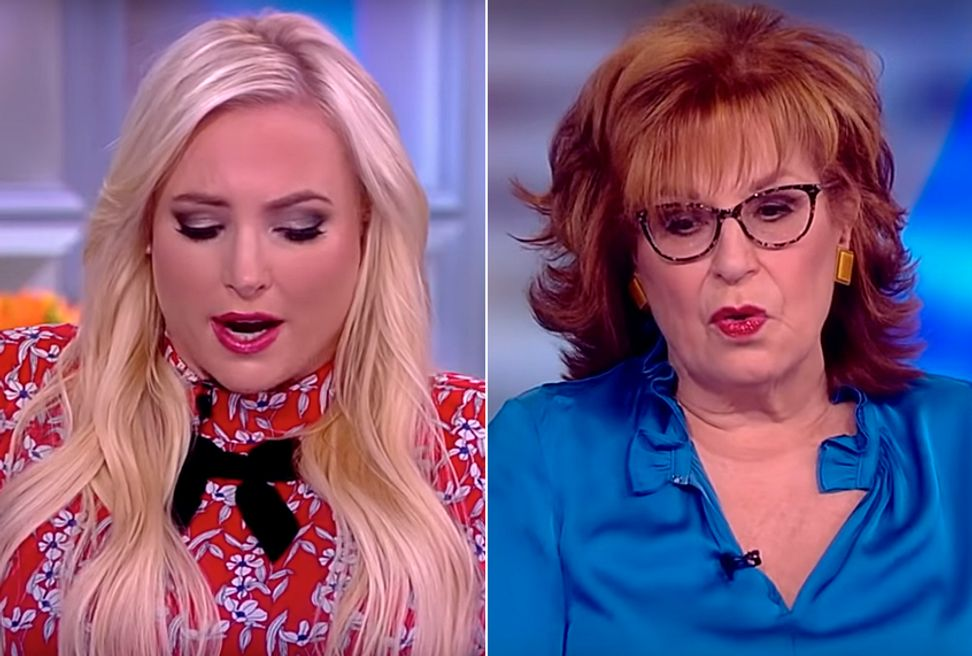 "Behar allegedly threatens to quit ""View"" after clash with McCain: ""Get this b*tch under control!"" 